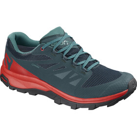Salomon M's OUTline GTX Shoes Reflecting Pond/High Risk Red/Deep Lake